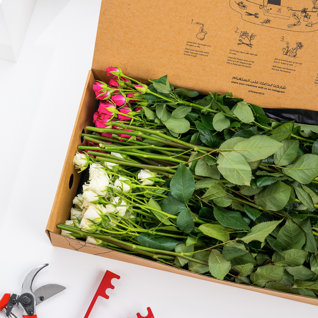 Roses DIY Box