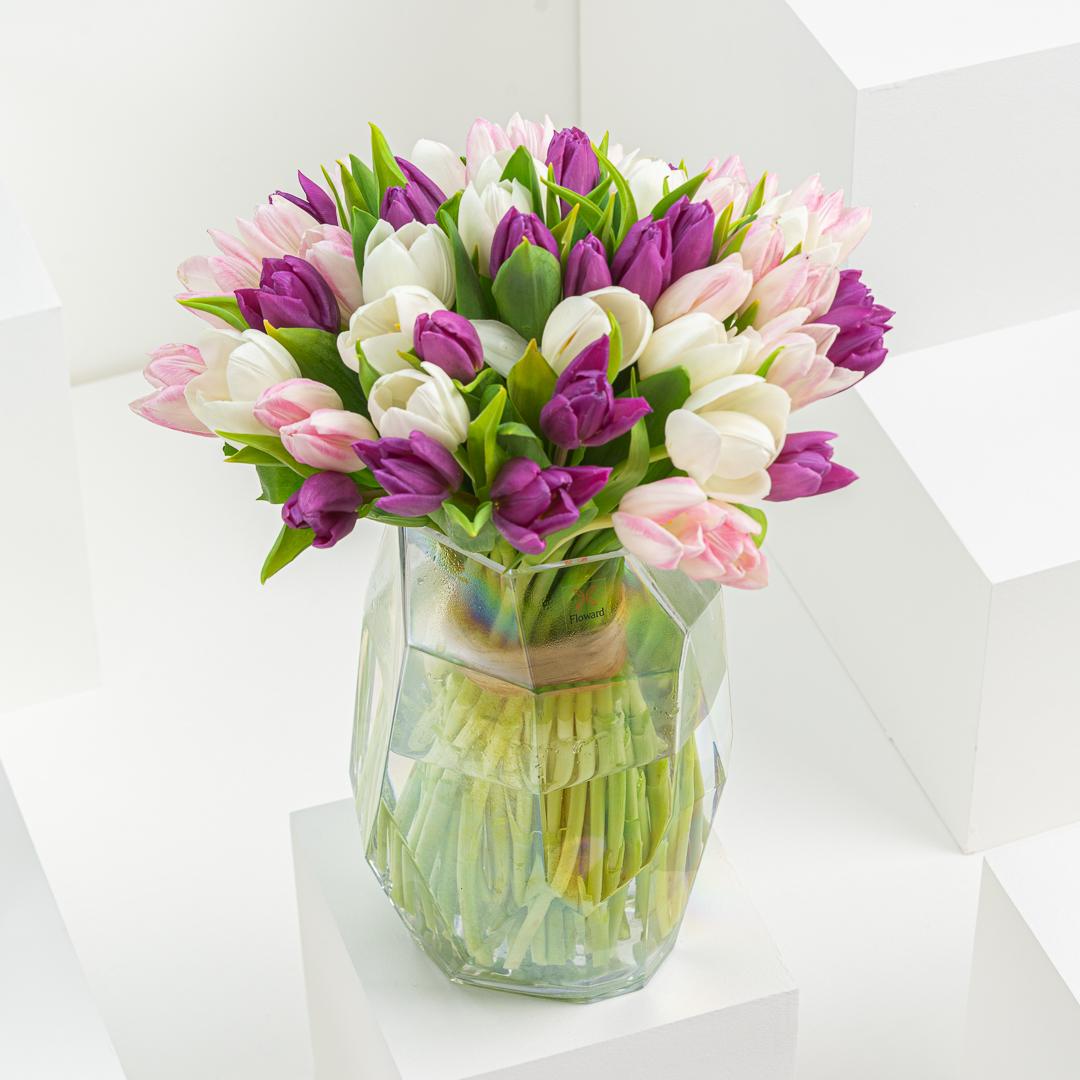 Seeta's Tulips I