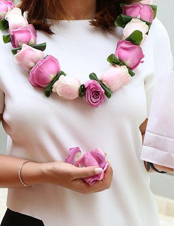 عقد الزهور الجوري