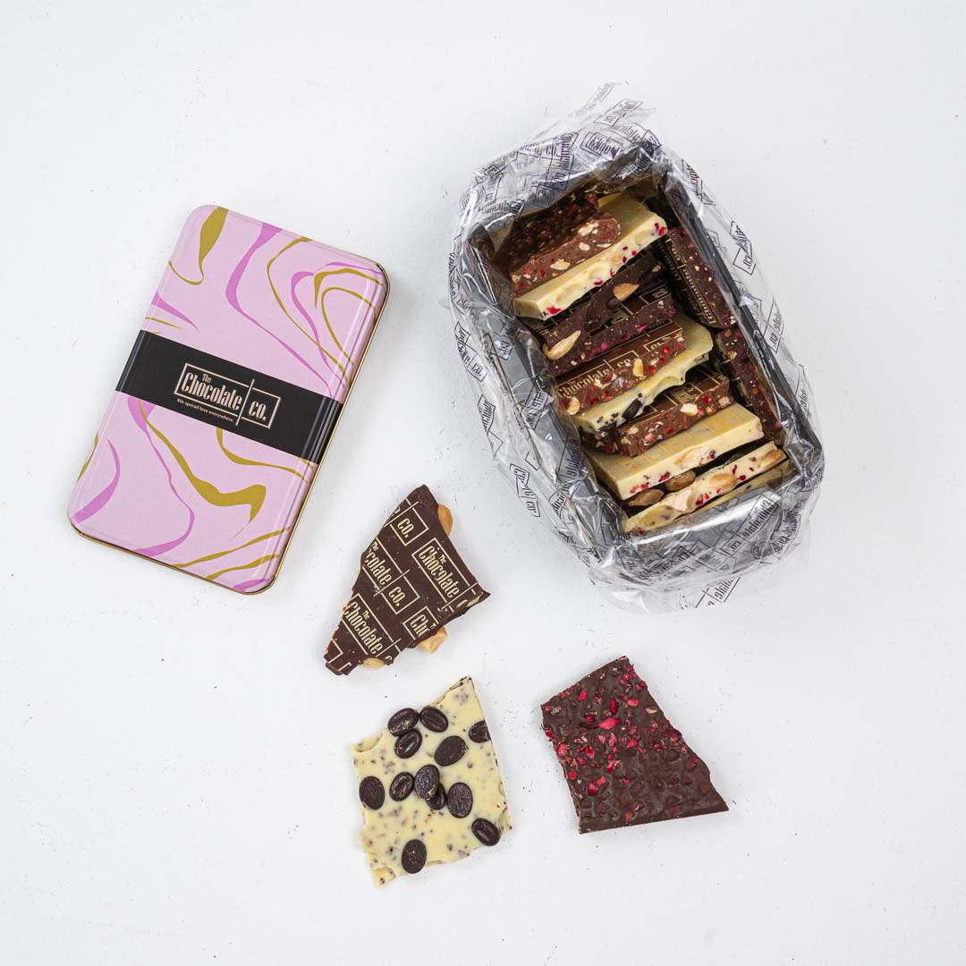 The Chocolate Co. Pink Box
