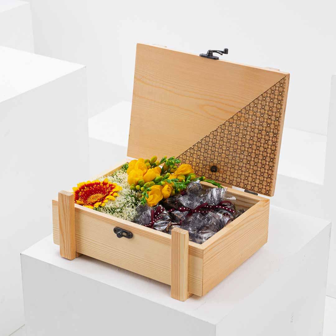 The Chocolate Co. Flower Box