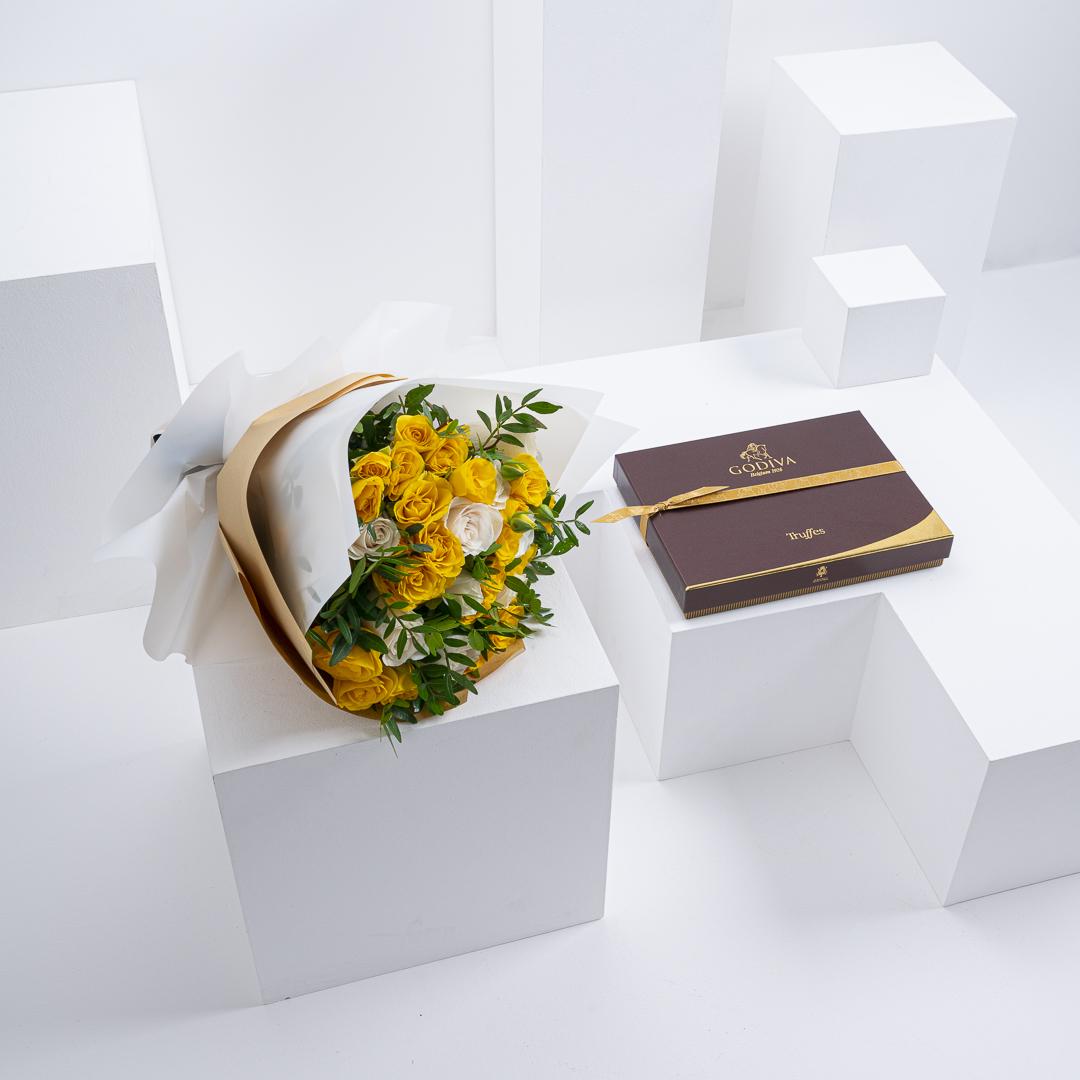 Godiva Truffles Box