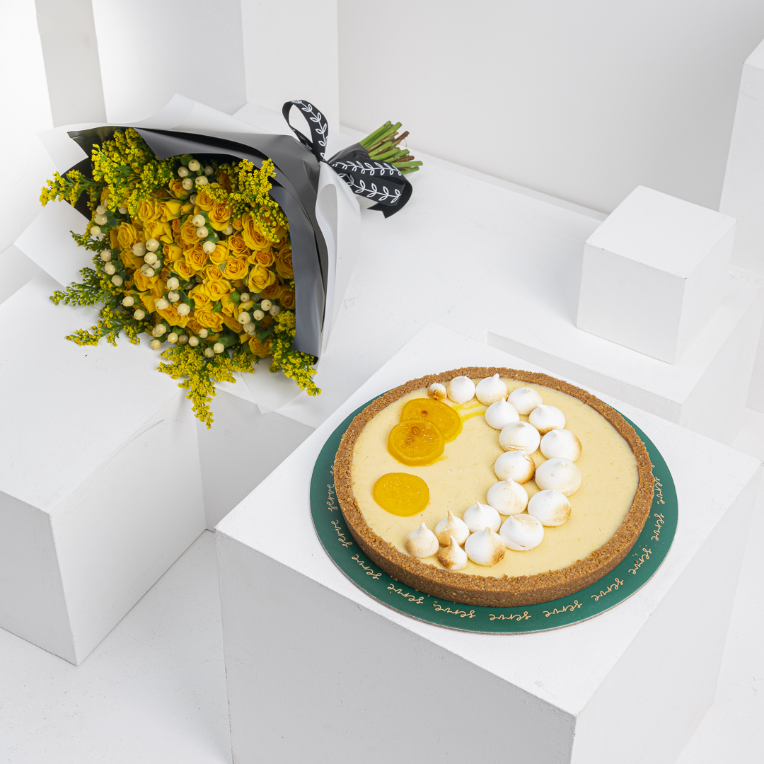 Serve Lemon Tart