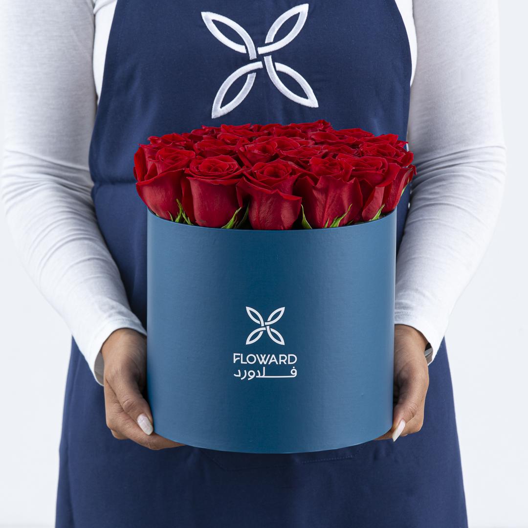 Roses cylinder II