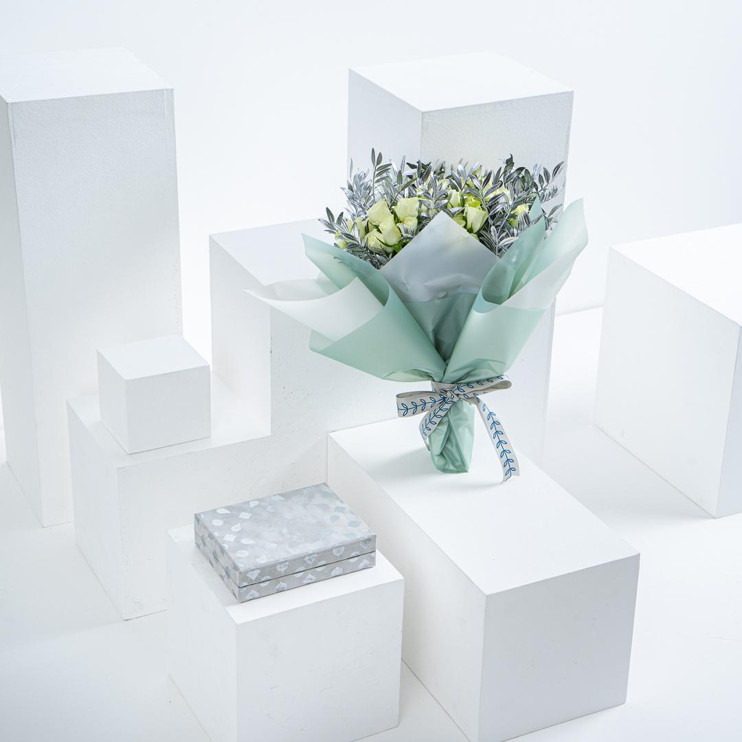 Soucolat Grey Velvet Box I