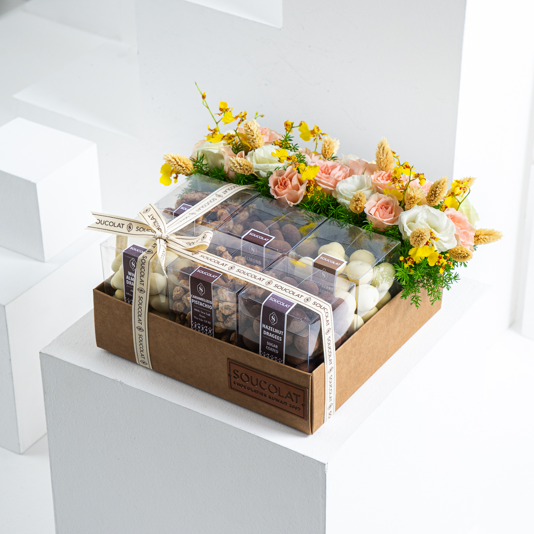 Soucolat Mixed Nuts Collection Box