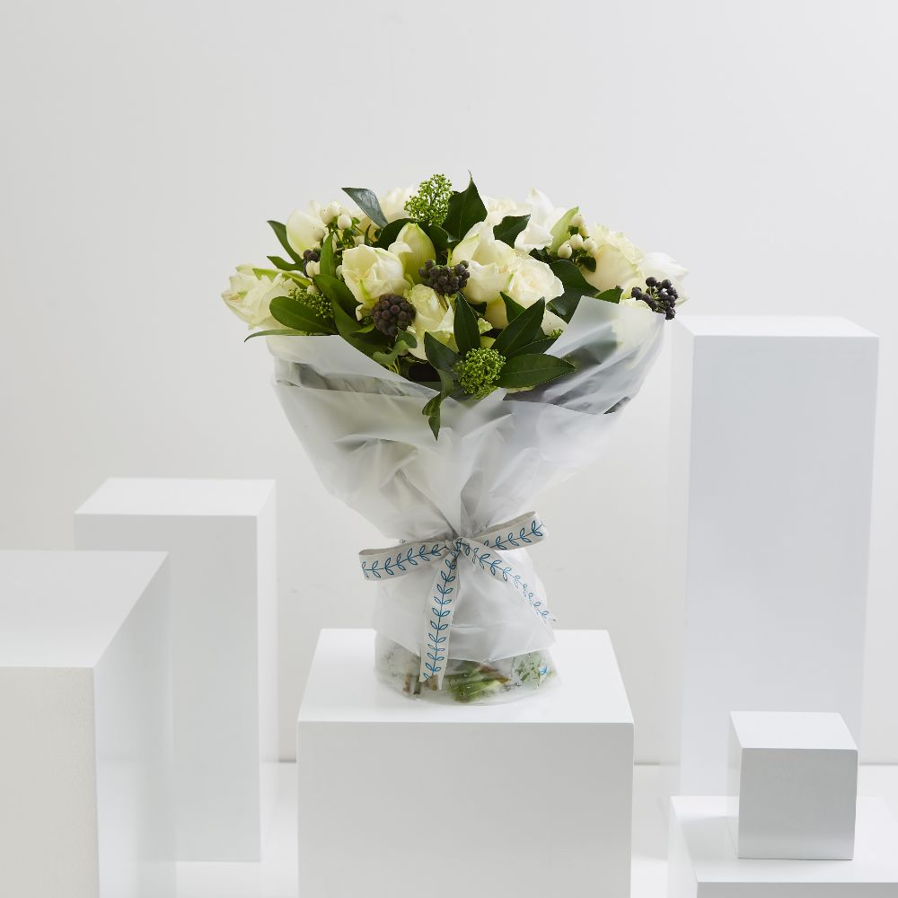 White Winter Bouquet