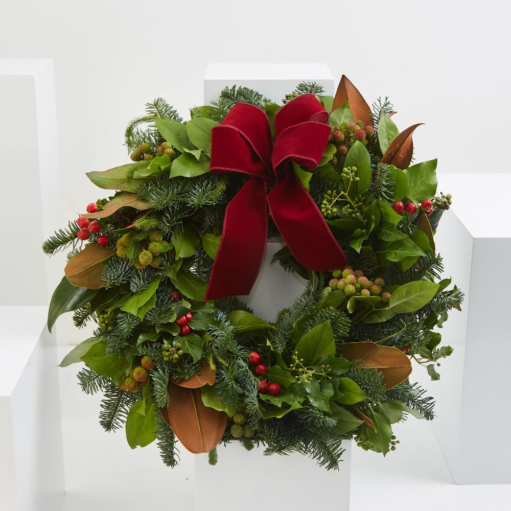 Red Festive Wreath