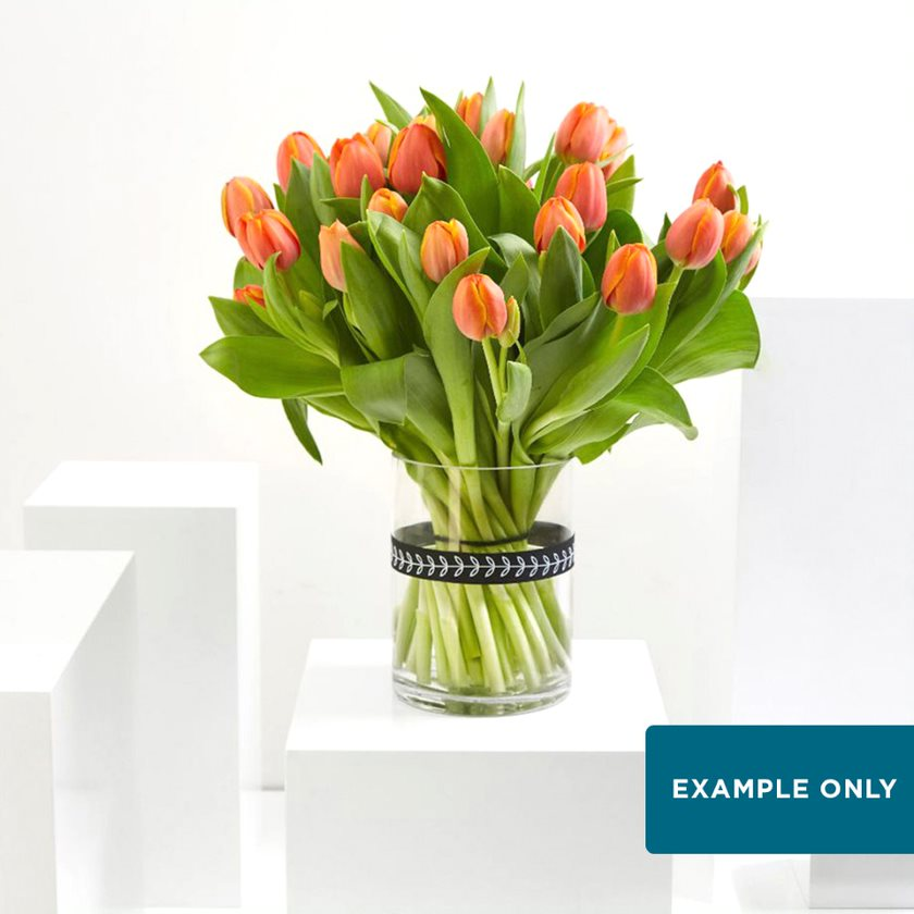 Weekly Seasonal Bloom Vase Arrangement