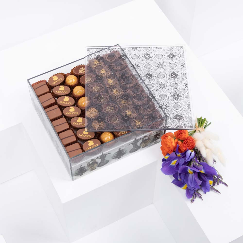 Chocolate and Flowers by Abucci IV