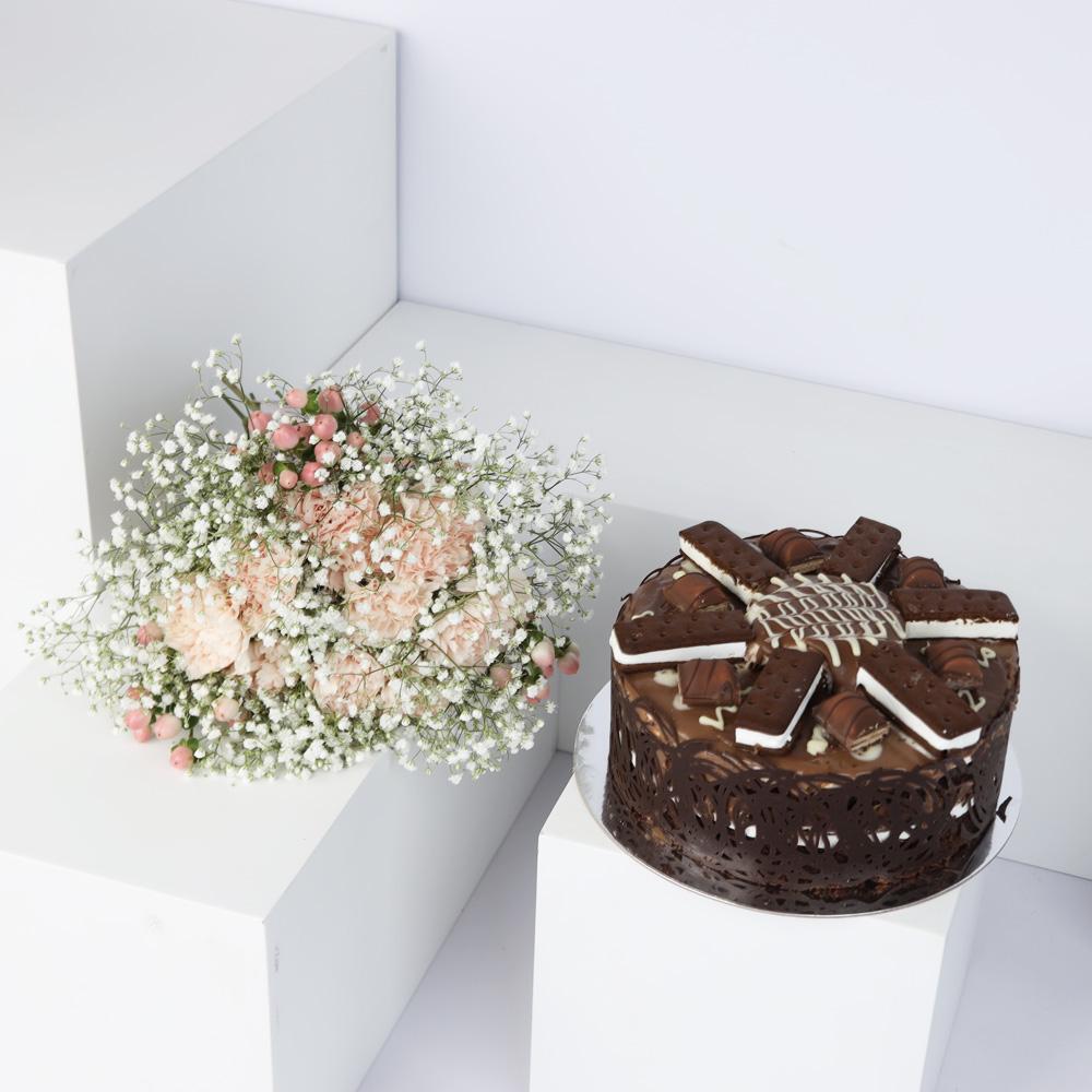 تريليشس- آيس كريم كعكة اللوتس